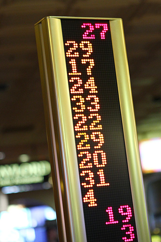 Roulette sign