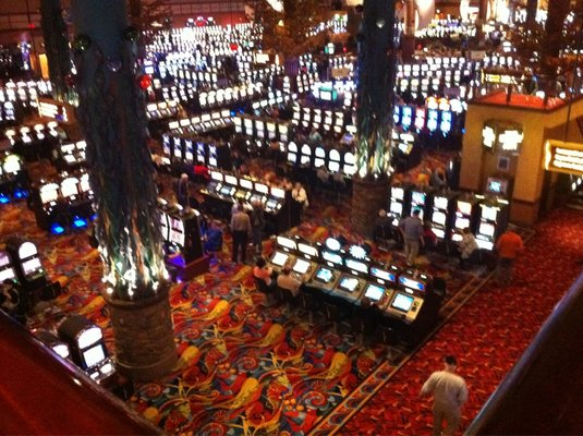 Twin River's Large Casino Lower Floor
