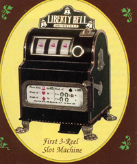 The First 3 reel slot machine