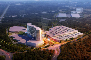 The expansive Mashpee Wampanoag  Casino Proposal in Brockton, Mass.