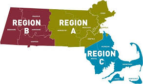 Massachusetts Regions for full casinos.