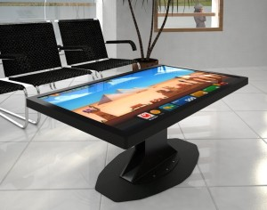 Gamblit's touchscreen gambling tables