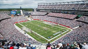 Gillette Stadium, home of the New England Patriots.