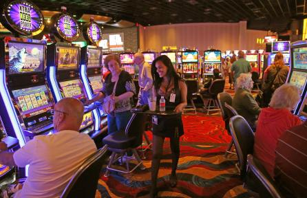 No free alcohol on the Casino Floor -Plainridge Park Slot Parlor