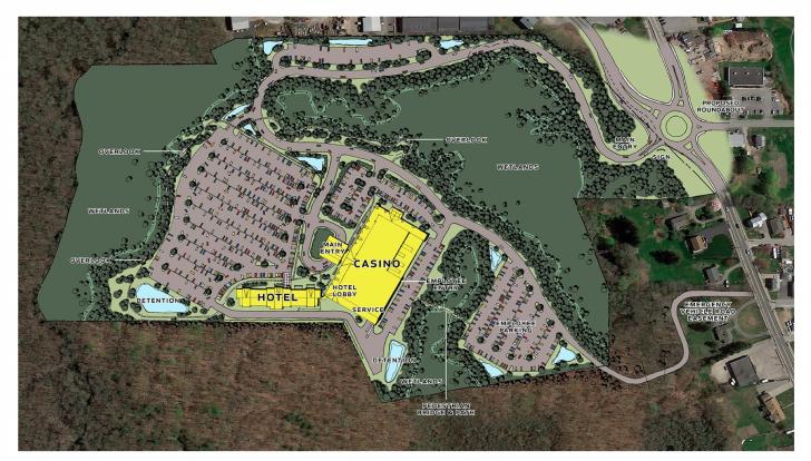 Tiverton Casino Site Map. Boston Globe