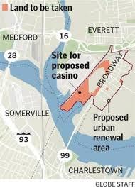 Proposed Site of Wynn Everett