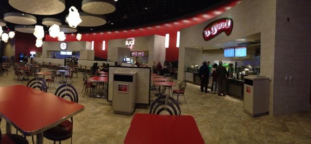 Food Court inside Plainridge Park Casino