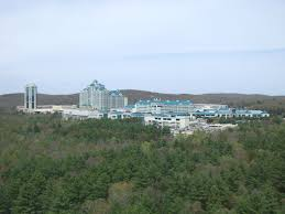 Foxwoods Resort - a two mile walk end to end.