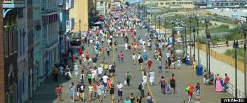 A Busy Boardwalk, not so long ago.
