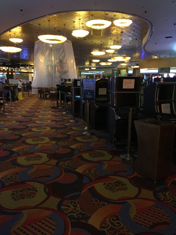 Path to the rest of Foxwoods is paved with out-of-commissioned slots.