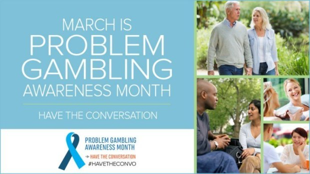 March is Problem Gambling Awareness Month, and the marketing drive has brought to light Plainridge Casino's failure to protect those susceptible to gaming addiction in Massachusetts. (Image: ncpgambling.com)