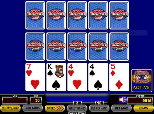 Video Poker Ultimate X - Triple Play