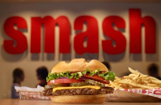 Smashburger.  photo by Levon Ofgang.