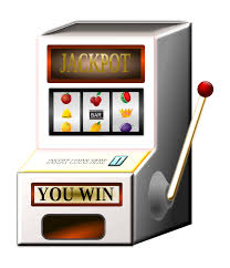 The Slot Machine - What you see is the entertainment in front of the RNG's split second choice when you hit the button or pull the crank.