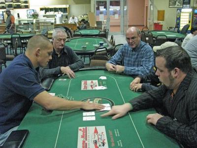 Texas Hold 'em at Rockingham Poker Room