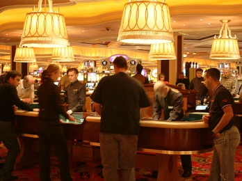 Craps Table at Wynn Las Vegas