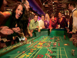 Shooting at the Craps Table - have fun whatever your game is.