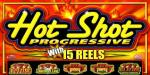Hot Shot Slots. 5 Progressive slots within the slot machine, but must play max bet to get access to progressive Jackpots.