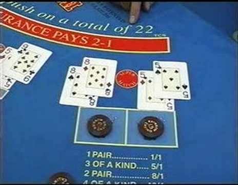 Blackjack switch table and deal.