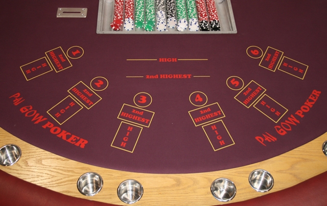 Pai Gow Poker Table. The key is how you set up your