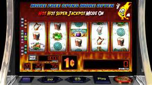 "Some slots have been on the casino floors for years, such as Bally's ""Hot Hot Jackpot."""