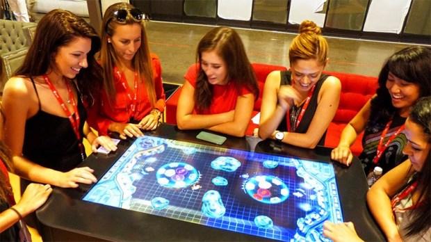 Gamblit Interactive multi-player game.