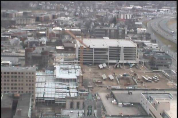 A bird's eye view of the site, courtesy of wwlp.com