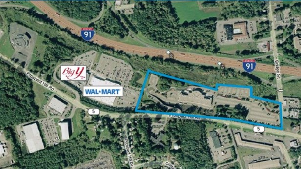 This former 59,424 square foot Showcase Cinema is ideally located just off I-91 and adjacent to a big box retail center.