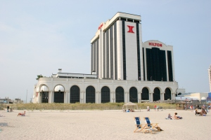 The Atlantic City Hilton, alive and well years ago.