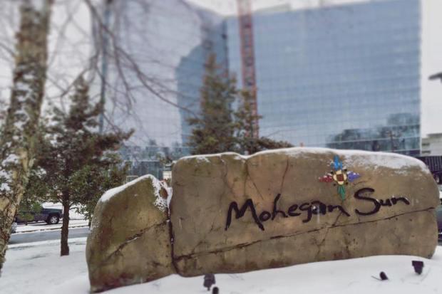 Snow at mohegan sun