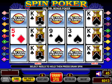 Spin poker strategy geant casino ouvert le 2 avril