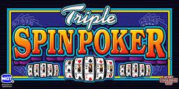 Three reels of Spin Poker Fun.