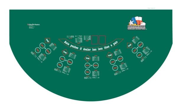 casino games ultimate texas holdem