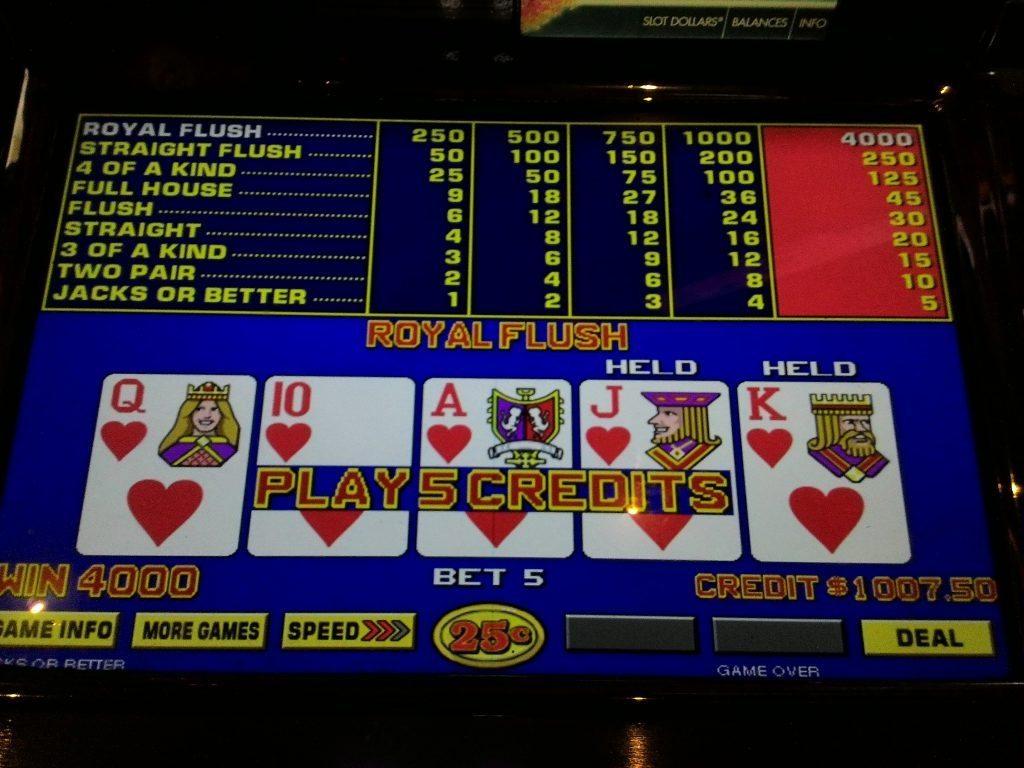 Video poker casino comps casino de montreal blackjack tables